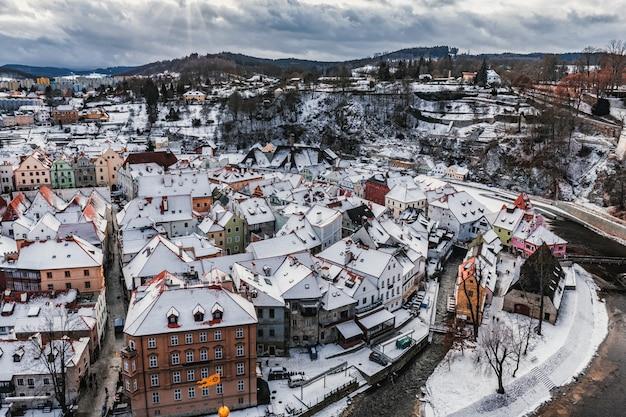 Cesky krumlov día de invierno