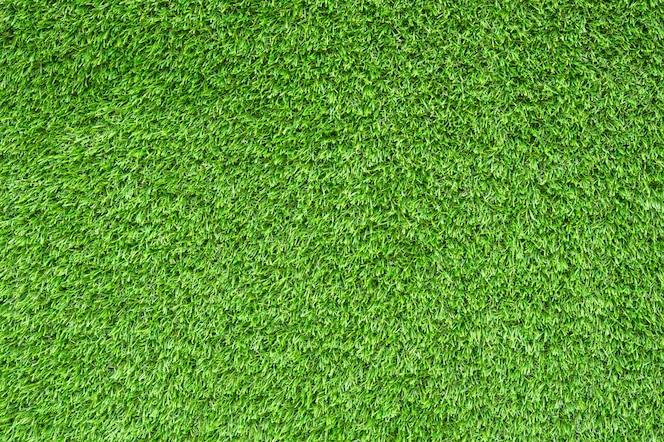 Césped verde artificial