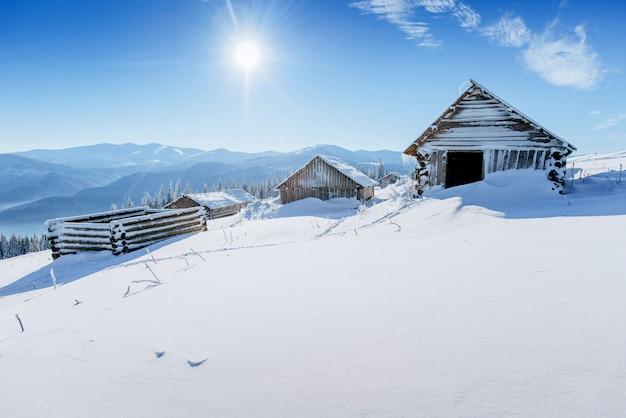 Chalet en las montañas