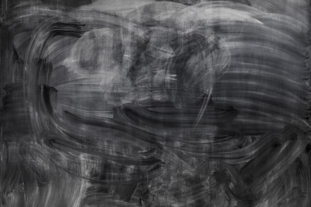 Chalk borrado en la pizarra