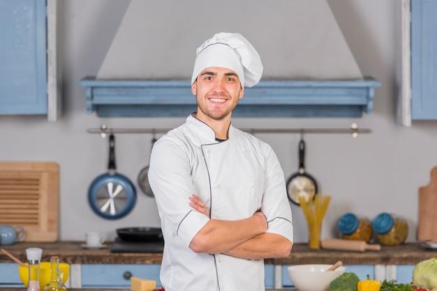 Chef en cocina