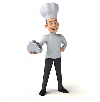 Chef divertido