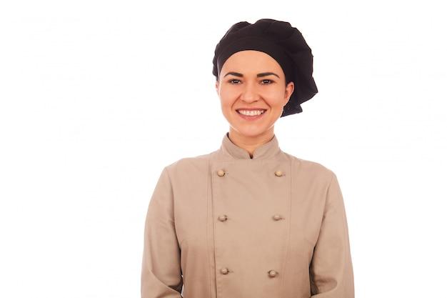 Chef muy femenina