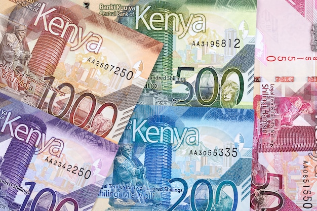Chelín keniano con nueva serie de billetes