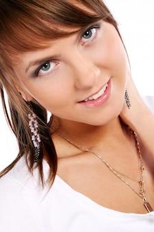 Chica joven y atractiva