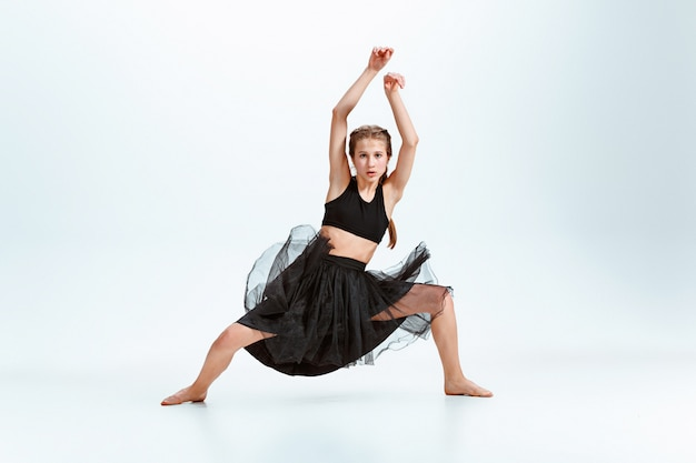 Chica joven break dance