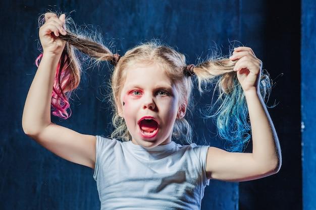 La chica loca crasy