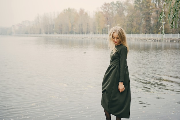 Chica en el parque