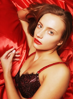 Chica sexy atractiva