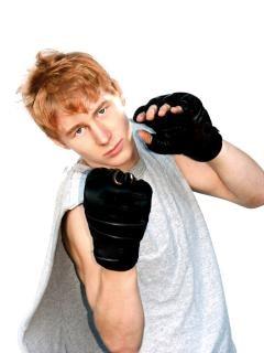 Chico listo para pelear