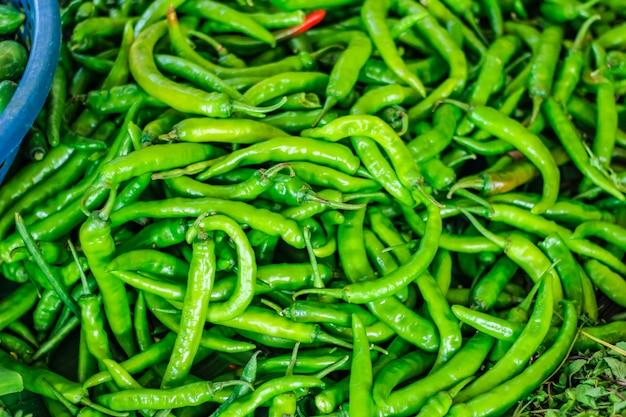 Chile verde fresco