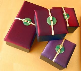 Chino giftboxes torta de luna, cubierta