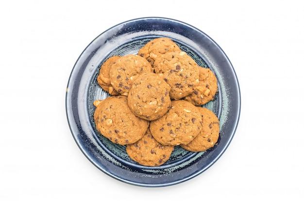 Chips de chocolate y galletas de anacardo