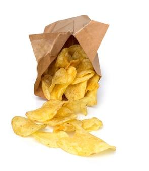 Chips en la mesa