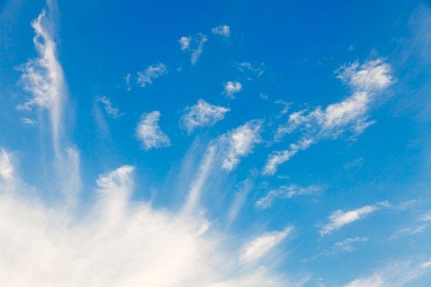 Cielo con fondo de nubes