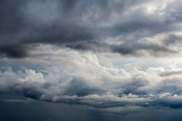 Cielo de tormenta cielo de lluvia