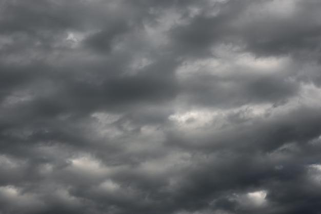 Cielo de tormenta con nubes