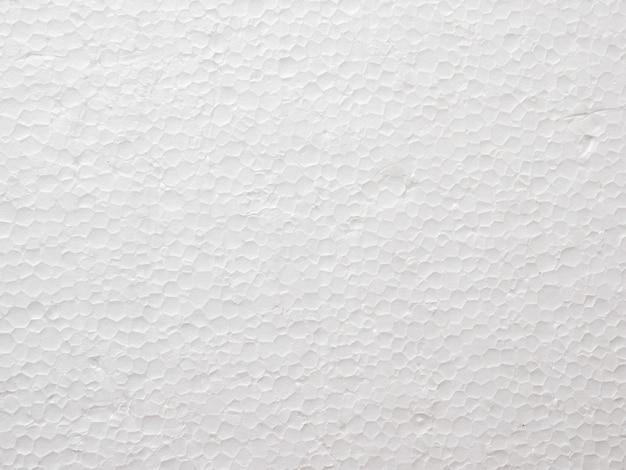 Cierre para arriba del fondo de la textura de la espuma de poliestireno