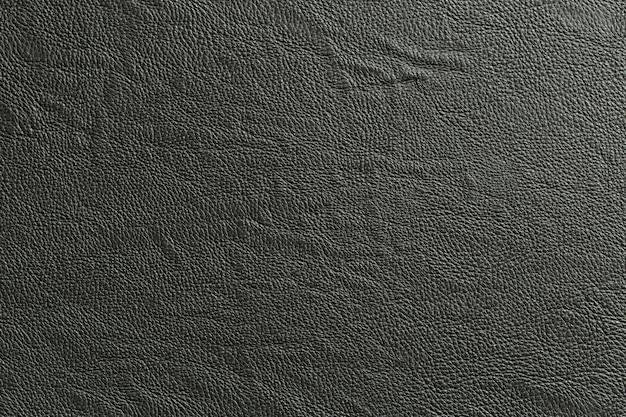 Cierre de cuero negro y textura de fondo