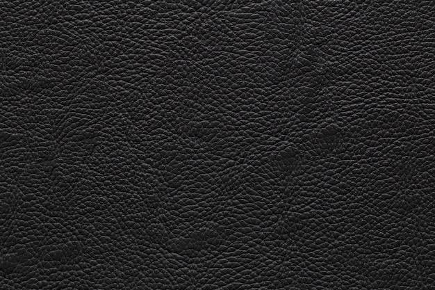 Cierre de cuero negro y textura de fondo.