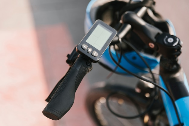 Cierre de manillar e-bike