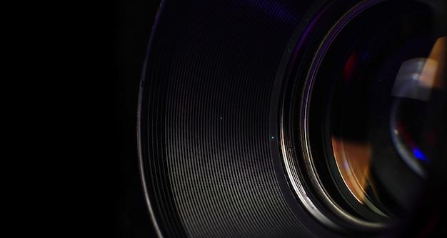 Cierre del obturador de la lente de la cámara