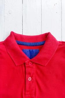 Cierre, polo, camisa