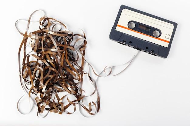 Cinta de audio de la música