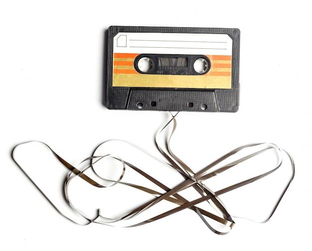 Cinta de cassette de la vendimia