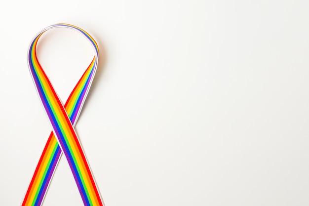 Cinta en colores lgbt.
