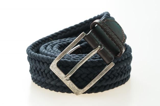 Cinturón de moda con hebilla.