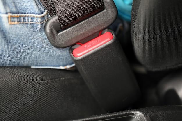 Cinturón de seguridad.