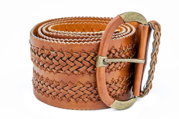 Cinturones de mujer de cuero