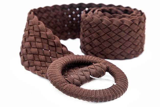 Cinturones de tela para mujer.