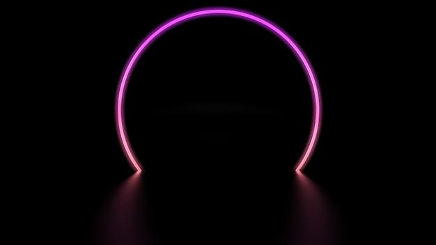 Círculo de luz digital
