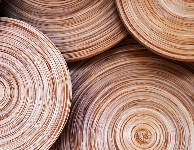 Círculo vintage textura de madera resumen de antecedentes.