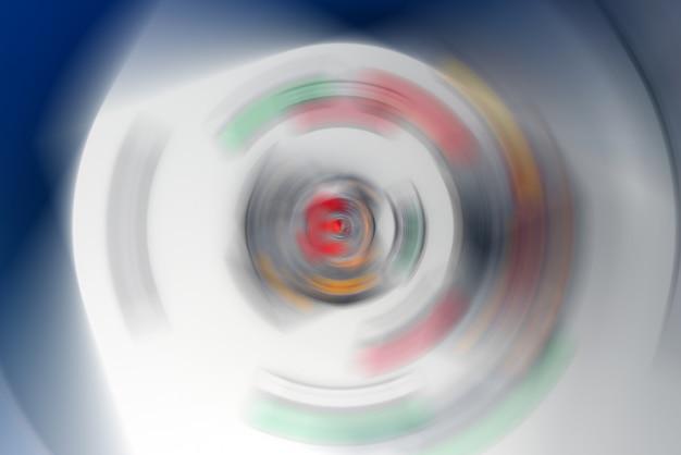Círculos de fondo abstracto futurista