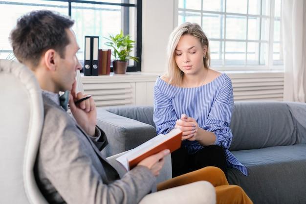 Cita en psicólogo