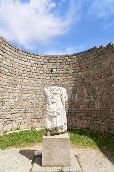 Ciudad antigua de la acrópolis, pérgamo (bergama) turquía