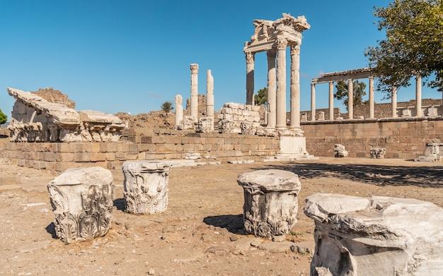 Ciudad antigua de pérgamo