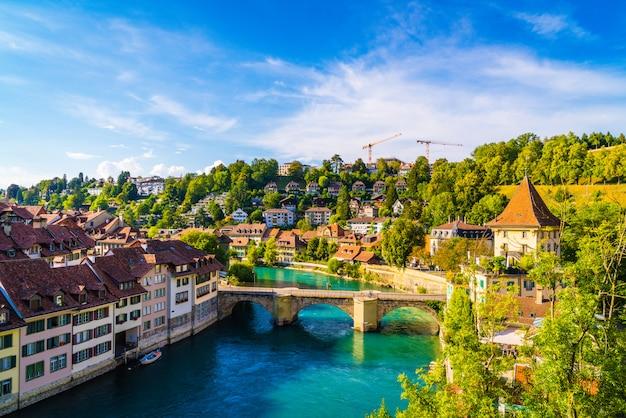 Ciudad de berna, en, suiza