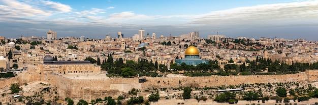 Ciudad de jerusalén en israel