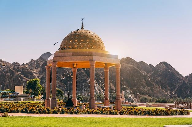 Ciudad de mascate en omán