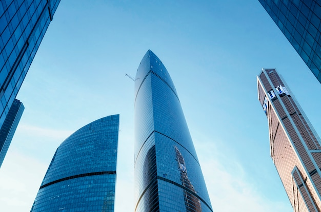 Ciudad de moscú (centro internacional de negocios de moscú), rusia