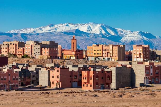 Ciudad de ouarzazate, marruecos