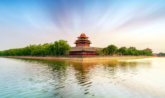 La ciudad prohibida en beijing, china