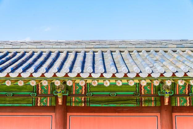 La ciudad de seúl arquitectura compleja del turismo