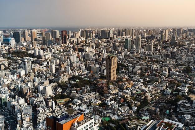 Ciudad de tokio, japon