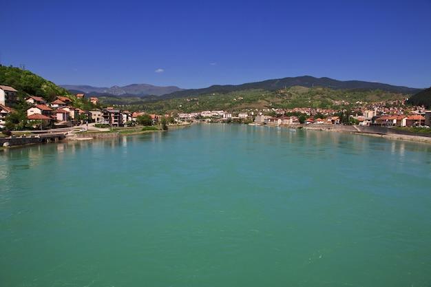 Ciudad de visegrad en bosnia y herzegovina