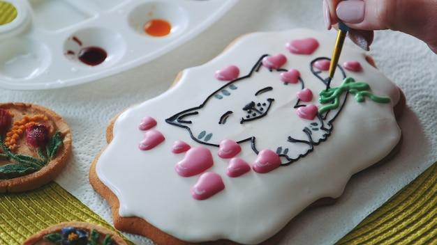 Clase magistral de decoración de galletas con glaseado real